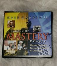 The Dale Carnegie Leadership Mastery Course 6 CD Set Nightingale Conant