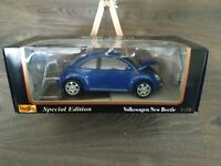 Maisto Exclusive Style Volkswagen Kafer- Beetle Special 1:18
