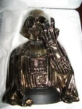 STAR WARS SUPER ULTRA RARE GENTLE GIANT CHROME DARTH VADER MINI BUST LIMITED.