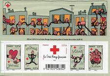 TIMBRE FRANCE NEUF BLOC  FEUILLET N° F4699 **  CROIX ROUGE SILIDARITE COTE 20 €