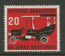WEST GERMANY 1955 50th ANNIV OF POST DELIVERANCE BY CAR  Mi No 211 MNH**