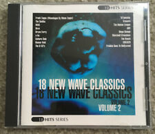 18 NEW WAVE CLASSICS, VOLUME 2, Rare, Original CD, 18 Hits