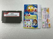 Puyo Puyo Sun + Flyers Sega STV Arcade Game Japan
