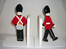 Pair of Soldier Book-Ends – Ref 1814