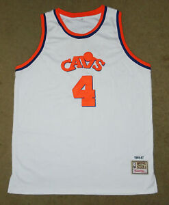RON HARPER Throwback Jersey 1986 -87 MITCHELL & NESS Cleveland Cavaliers CAVS 56