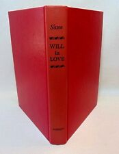 Will In Love by Rosemary Anne Sisson Hc Book Re-creation Fictional Shakespeare
