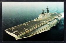 Amphibious Assault Ship USS ESSEX LHD-2 Navy Ship Postcard