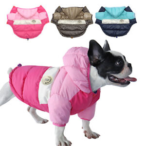 Dog Winter Coats Waterproof Cold Weather Jacket Vest Warm Clothing Jack Russell