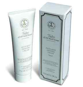 Avocat Crème à Raser Taylor of old Bond Street Tube 75ml Luxe Rasage Crème