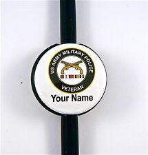 ID STETHOSCOPE NAME TAG US ARMY MILITARY POLICE VETERAN, RN,ER,NURSE,DR.TECH,