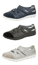 Womens Ladies Wide EEE Fit Leather Summer Shoes Pumps Trainers Boulevard 3-9