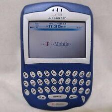 Vintage BlackBerry 7230 - Blue (T-Mobile) Smartphone