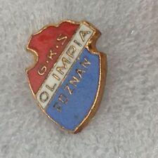 OLIMPIA fondamentale Football Club POLONIA ANNI 1960 UFFICIALE Fermacravatta BADGE molto buona