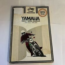 CLYMER YAMAHA 650CC TWINS 1970-1976 REPAIR MANUAL vintage 1976