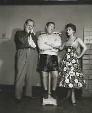 BUD ABBOTT & LOU COSTELLO Debra Paget  Stand-up, film, vaudville 8 X 10 PHOTO 1