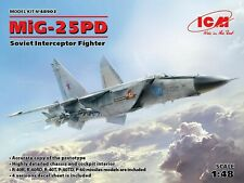 ICM 48903 Soviet Interceptor Fighter MiG-25 PD 1/48