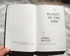 Planet Of The Apes 1st U.S. Translated Edition 1963 BoulleHb Clean w/o Dj Book