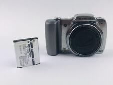 Olympus SZ-10 18x Wide Optical Zoom 14 MP Digital Camera 3.0 inch LCD - Silver