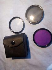 Estuche con tres Filtros Zeikos de 55mm UV CPL FLD