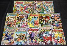 Vintage Bronze AVENGERS 14pc High Grade Comic Lot Captain America Iron Man