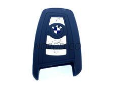 SILICONE Keyless Smart Chiave fob Protector Case BMW F12 13 F20 21 F30 F26 F3 Blu Scuro