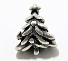 Pandora Ale 925 Sterling Silver Christmas Tree Bead Charm