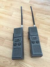 2 Realistic Trc-27 3 Channel Hand Held Transceivers Vintage With Antenna Upgrade