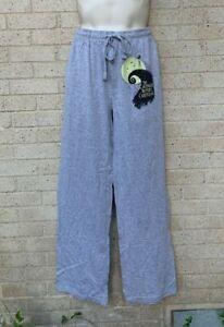 Large Nightmare Before Christmas Pajama Lounge Pants Comfy Disney Jack Halloween