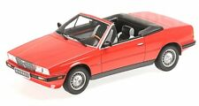 1 18 Minichamps Maserati Biturbo Spyder 1986 Red
