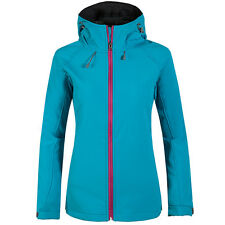 Women's Fleece Lined Soft Shell Jacket Waterproof Climbing Hiking Coat Clothes
