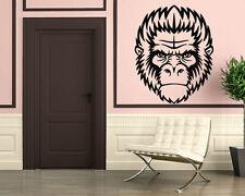 Animal Mammal Monkey Tattoo Gorrie Shempanze Decor Wall Mural Vinyl Sticker i009