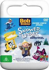 Bob The Builder - Snowed Under - The Bobblesberg Winter Games (DVD, 2005)