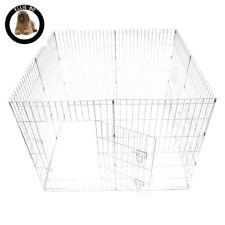 Ellie-Bo Easy Up 8 Piece Lightweight 91cm High Indoor/Outdoor Rabbit Puppy Pen