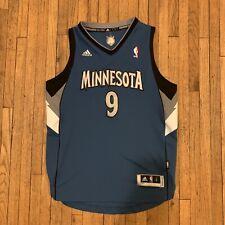Adidias MInnesota Timberwolves Unisex Ricky Rubio Jersey Sz Youth Large NBA
