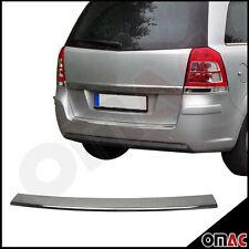 Opel Zafira B Ladekantenschutz Chrom V2A Edelstahl mit Abkantung Stoßstange