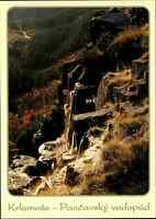 Riesengebirge Krkonoše Pancavsky vodopad Tschechien Postcard color Postkarte