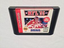 NFL 95' (Sega Genesis) National League Football Game Cartridge Excellent!