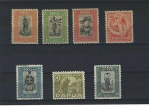 Stamps Papua and New Guinea Selection of 1932 Pictorial Definitives