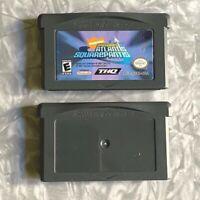 Spongebob Atlantis + Bikini Bottom Nintendo Gameboy Advance TESTED GBA Lot
