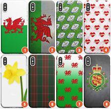 Wales Slim Flexible Phone Case for iPhone   Wales Wru Welsh Flower