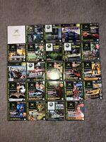 Microsoft Xbox Magazine Demo Discs - Lot Of 25 Games !
