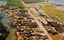 Key Largo Florida Aerial View Vintage Postcard J71191