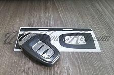 Scuro Grigio Metallizzato CHIAVE Wrap Copertura Audi Smart Remote a1 a3 a4 a5 a6 a8 TT q3 5 q7