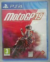 MOTO GP 19 jeu vidéo Playstation 4 PS4 version FR Neuf