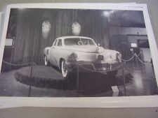 1948 TUCKER  CAR IN SHOWROOM     12 X 18 LARGE PICTURE / PHOTO