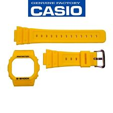 Casio G-Shock Original DW-5600P-9 Watch band & Bezel Rubber Set Yellow