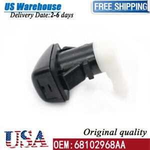 68102968AB Windshield Washer Fluid Nozzle For 2014-2021 Jeep Cherokee 68102968AA