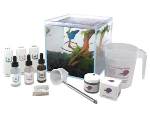 Boutique Betta 2.1 gallon Rimless Aquarium Complete Kit With Fish Food and More!