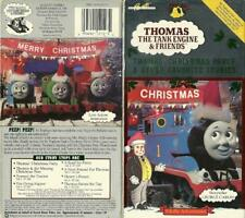 Rare Vintage Thomas Train Tank  Engine Friends Thomas' Christmas Party VHS video