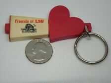 Vintage Friends of LSU Tigers Ink Pen (Non-Working) Keychain